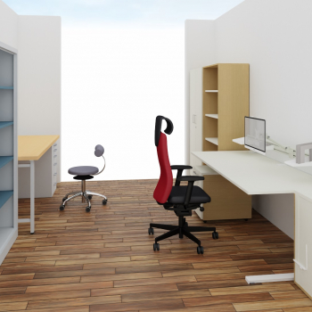 Ansicht Büro_Werkstatt